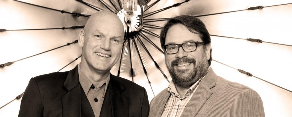 Michael Egloff & Ronald Betschart, November 2014, fotografiert von Hoai Nguyen
